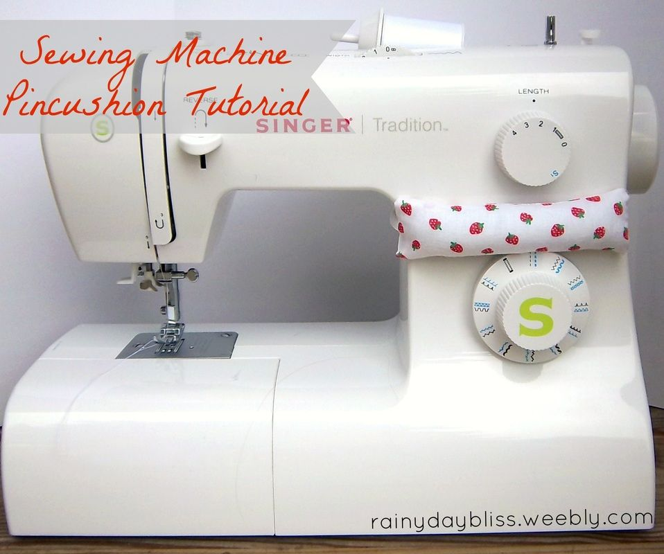 Make your own sewing machine pincushion! | sewing & such | Pinterest ...