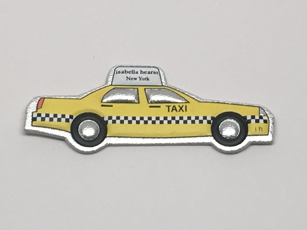 Yellow Cab Goatskin Leather Sticker Yellow Cabs Leather Cab [ 768 x 1024 Pixel ]