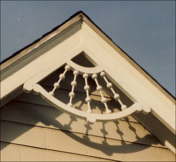 Victorian Gable detail