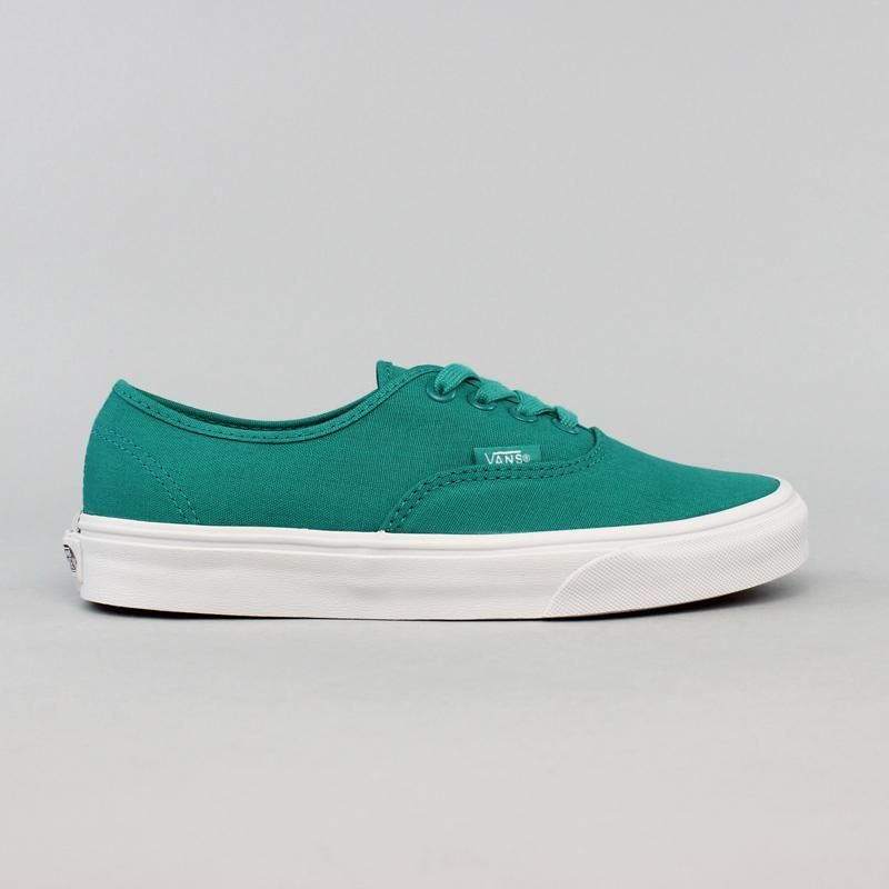 tênis vans authentic gumsole verde