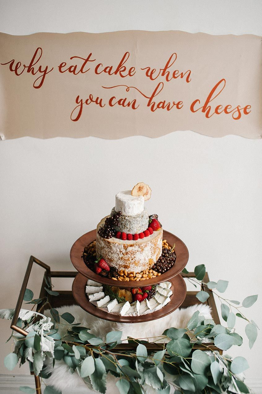 Why eat cake when you can have cheese? Awesome alternative wedding ...