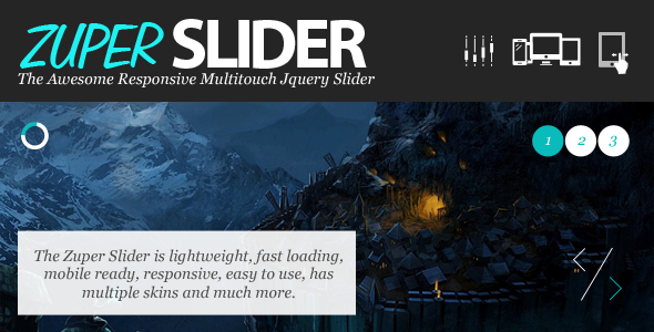 Zuper Responsive Multitouch Slider - Slide And Glide with