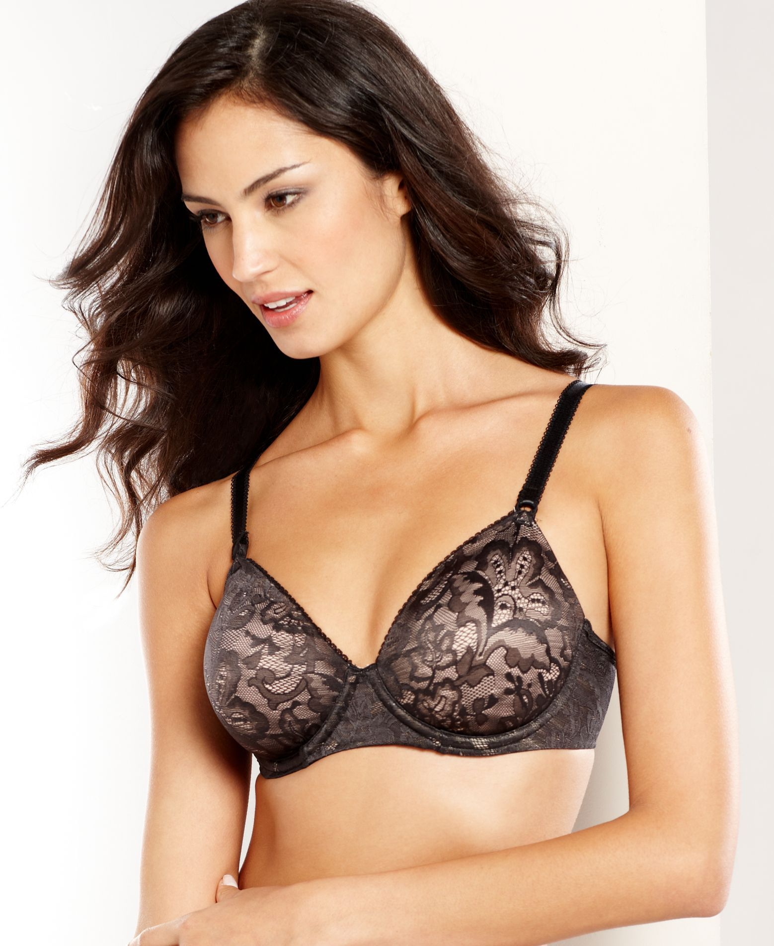 Bali One Smooth U Lace Underwire Bra 3516 | Shops, Us and Lace