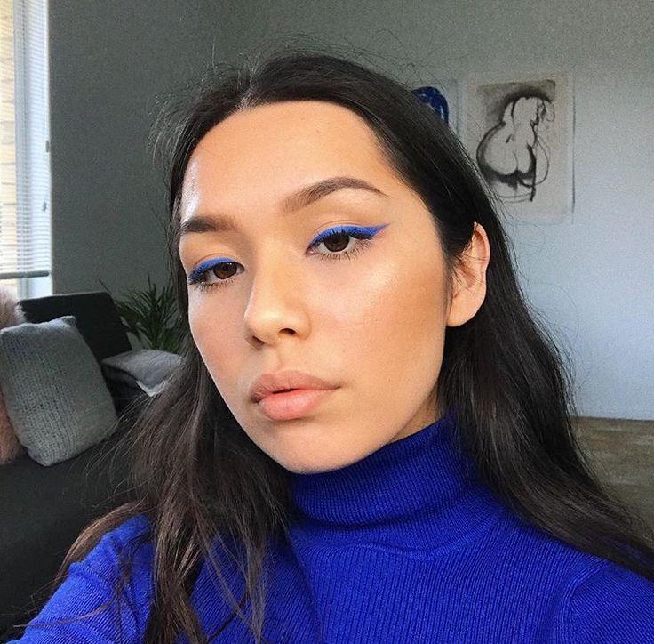 Photo of Makeup  #eyeliner blue eyeliner, eyeliner for hooded eyes, white eyeliner, eyeli…