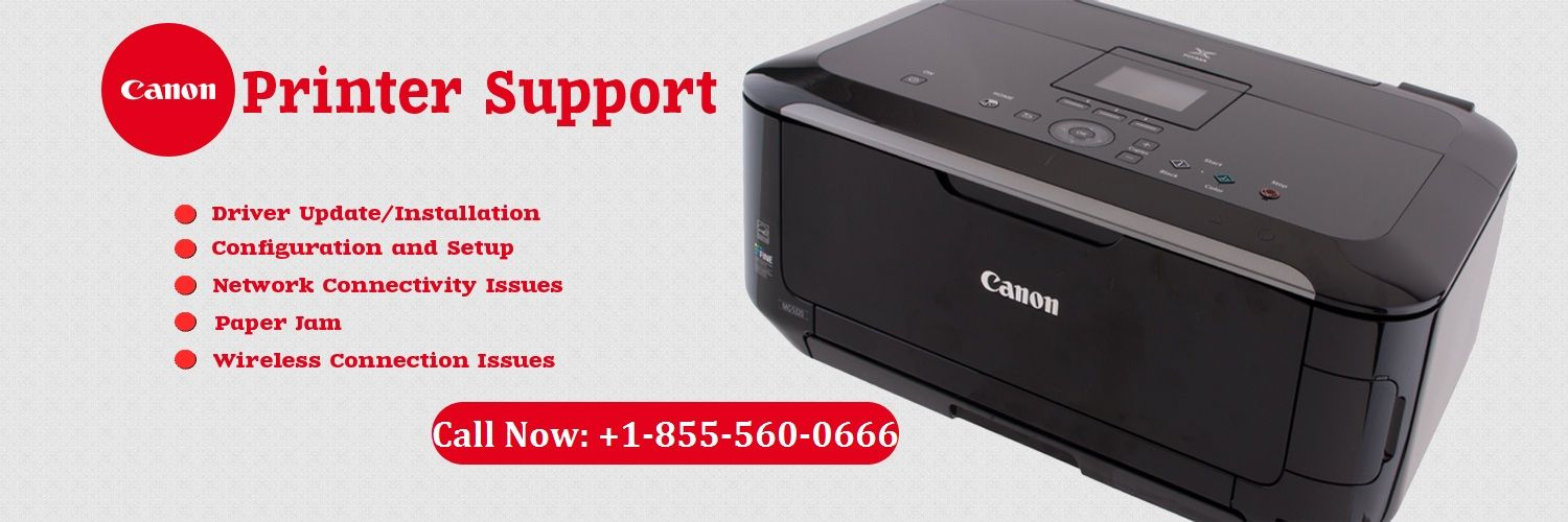 Canon support phone number 18555600666 is a
