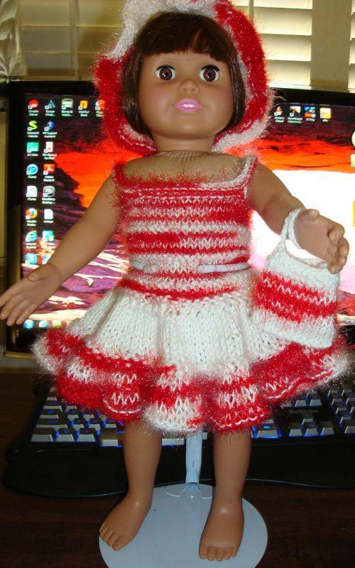 Free Pattern Ladyfingers American Girl Knitting Patterns Handout