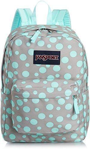 759c494dab35 JanSport Girls  Superbreak Backpack Grey-Aqua