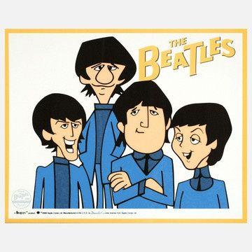 The Beatles Beatles Cartoon Animated Cartoons The Beatles