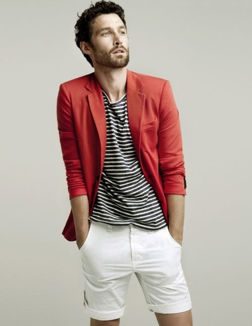 Red Blazer For Men Photo Album - Reikian