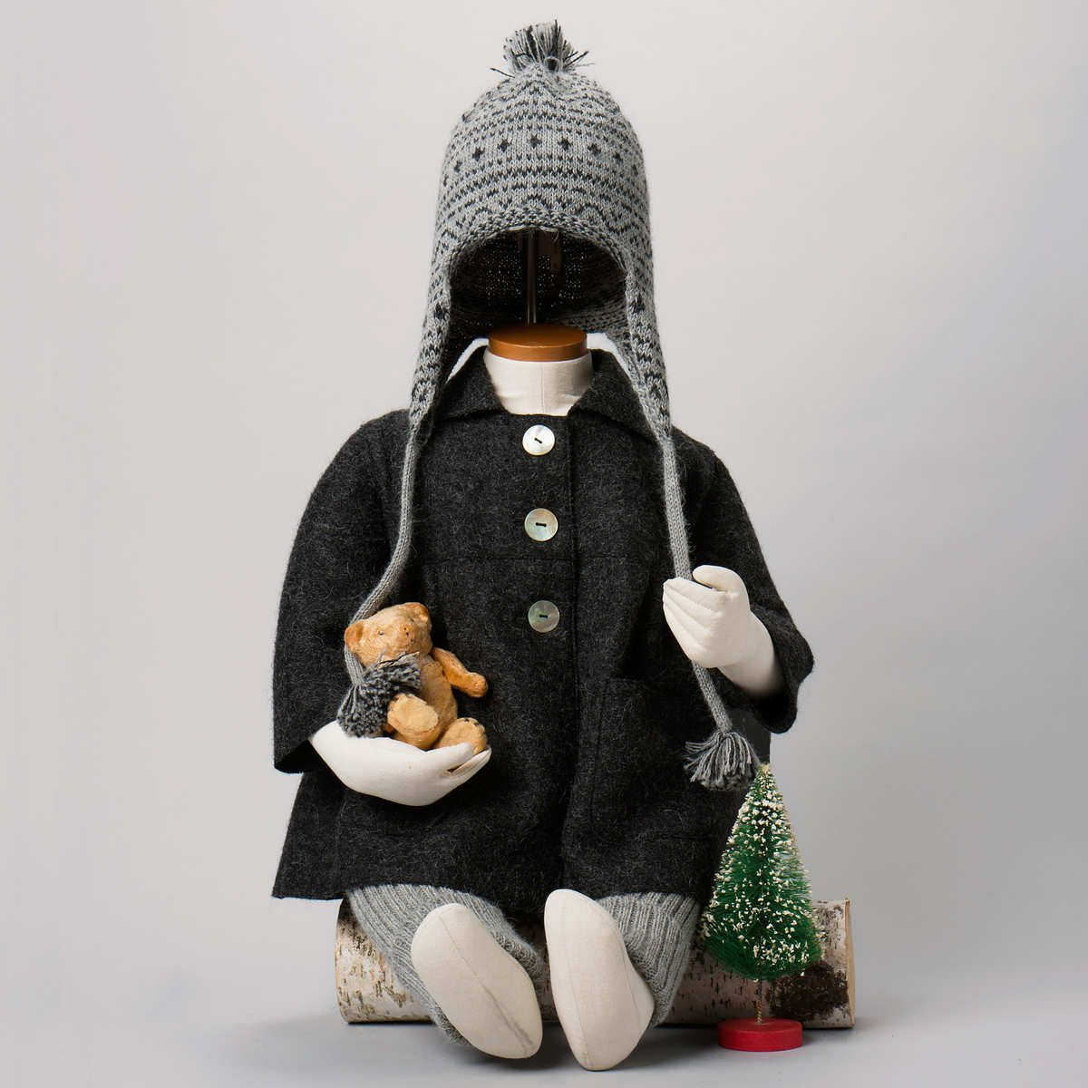 Luxurious Organic Infant and Baby Clothing: coat : Felted Coat