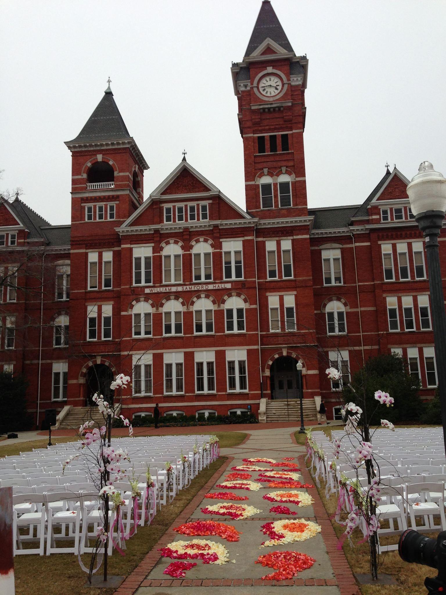 Auburn Wedding But Obv WVU Instead