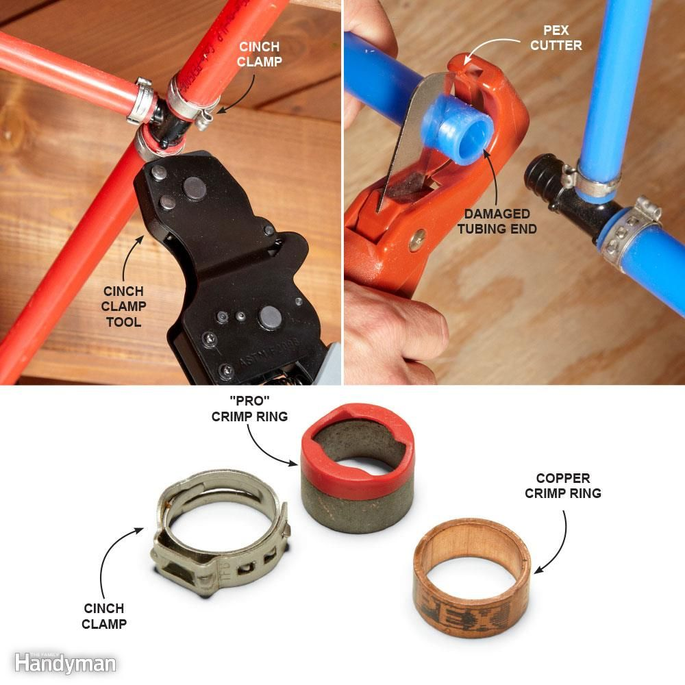 Pex supply pipe everything you need to know crimping for Pex vs copper main water line