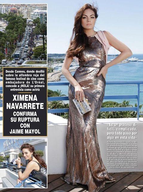 http://ximena-navarrete.blogspot.com/2013/06/ximena-navarrete-jaime-mayol-ex-novio.html Ximena Navarrete habla sobre su ruptura con Jaime Mayol