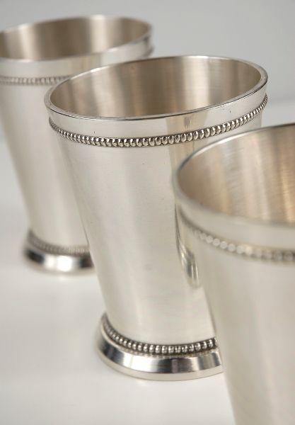 Mint Julep Cups 4 Silver Plated Wedding Pinterest Diy