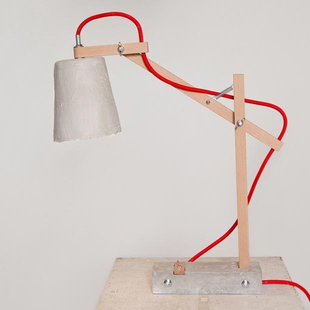 Remiz Desk Lamp By Sara Kele Red Cable Lamp Pendant Lamp Home Decor