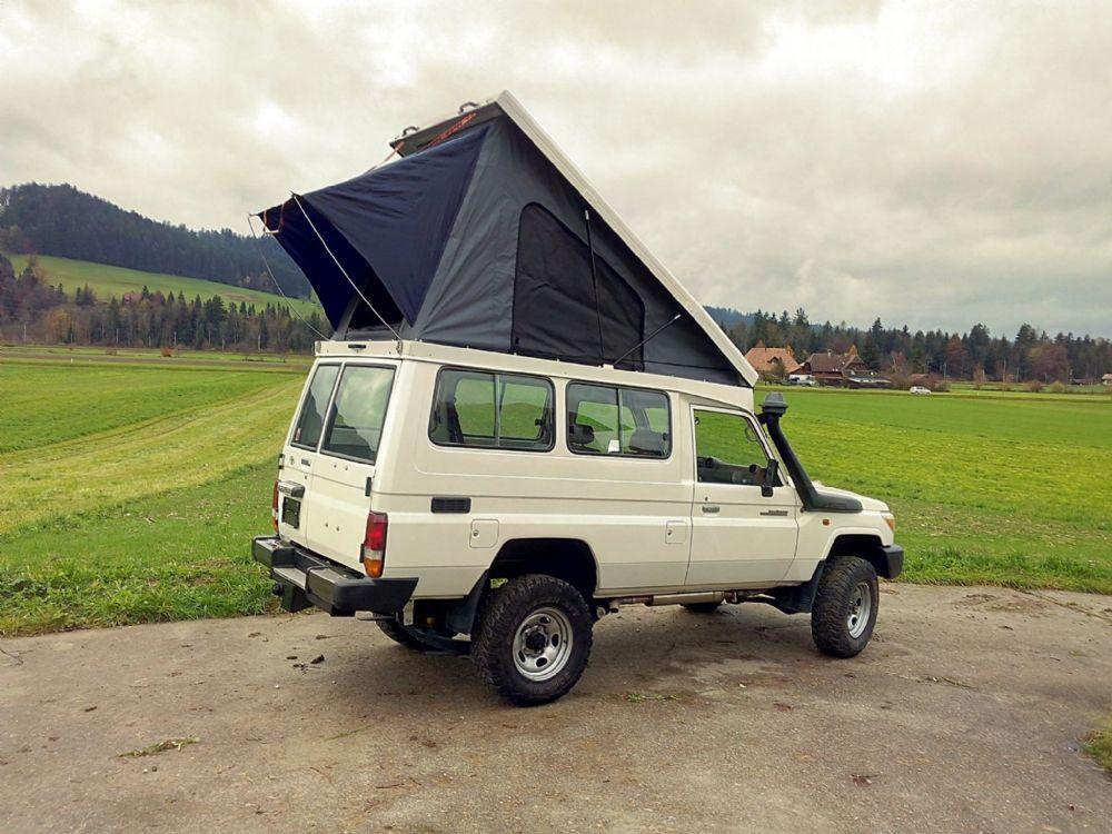 toyota pop up camper - Buscar con Google | Troopys | Pinterest ...