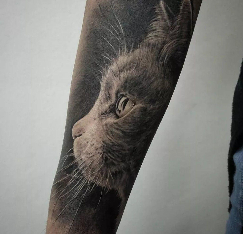 Black tattoo cover up ideas pin by patricio salazar on tatuaje  pinterest  tattoo animal