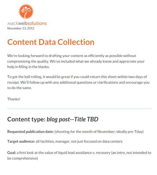 Scaling Up the Effort: The Process Behind Great (Contracted) Content - Moz >> great idea for content collection!