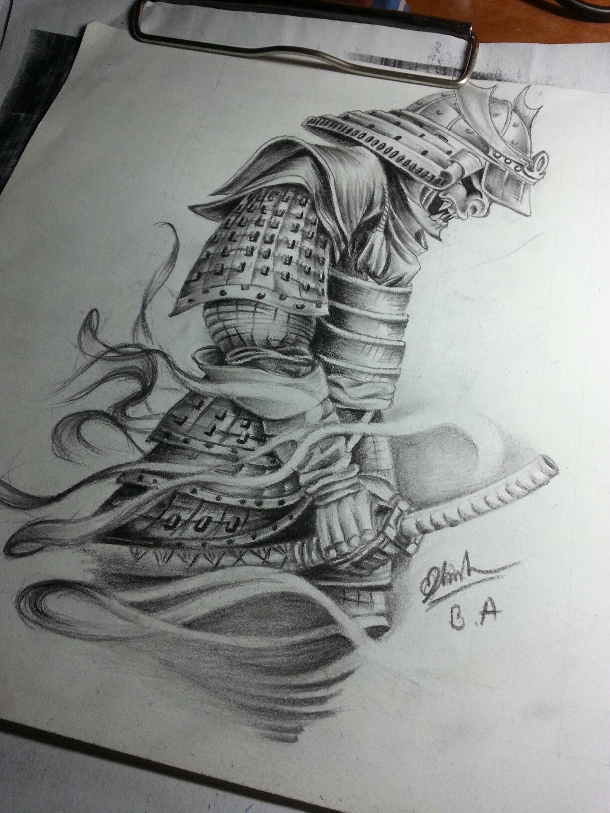 samurai art for tattoo by me oriental tattoos pinterest samurai tattoo tattoos and. Black Bedroom Furniture Sets. Home Design Ideas