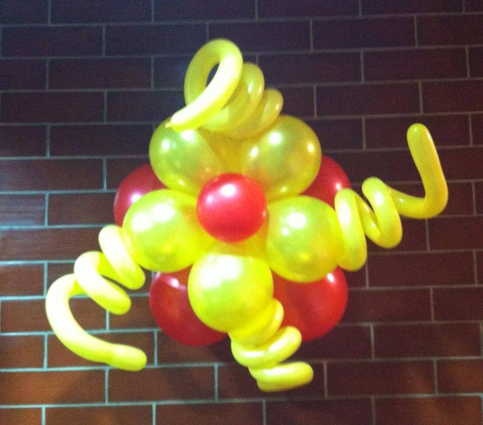 Flower Balloon Display | Balloon Creations | Pinterest | Flower balloons