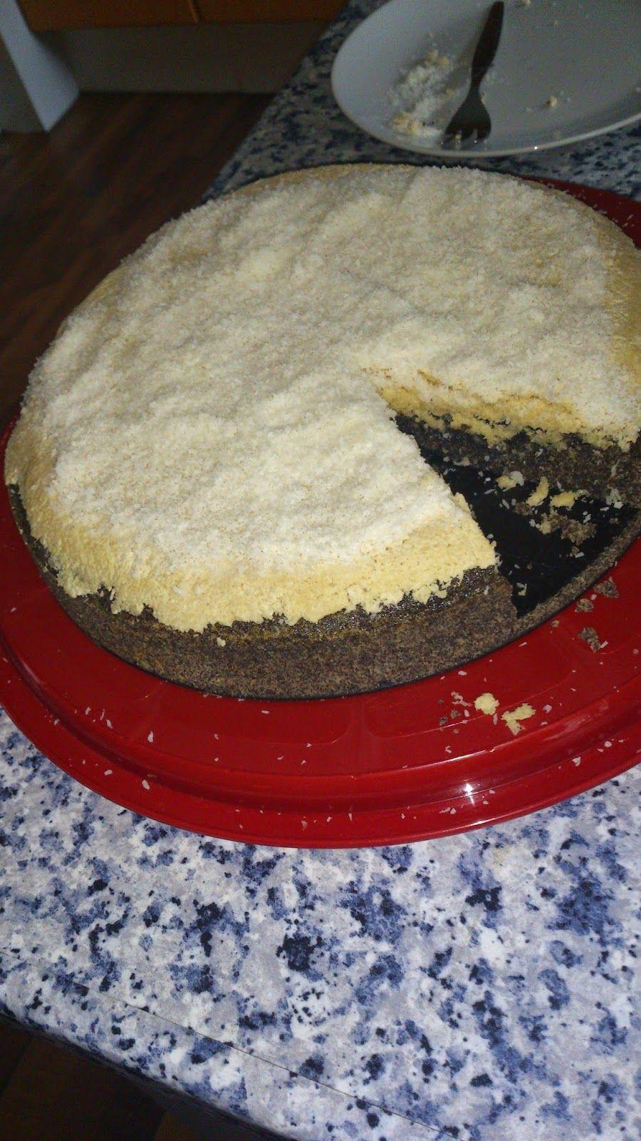 Kokos-Mohnkuchen