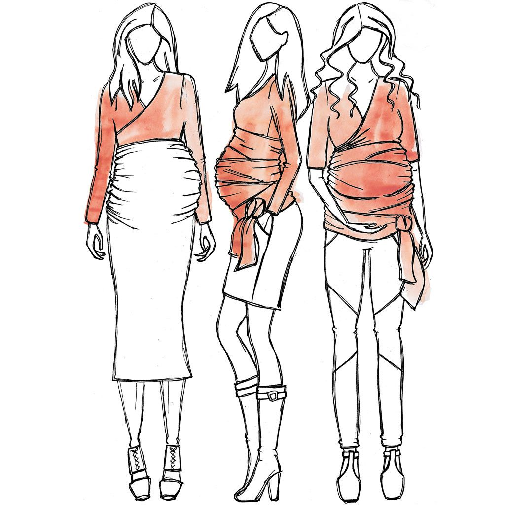 5abbda38bdcea Alissa maternity top sewing pattern | Sewing Ideas | Maternity ...