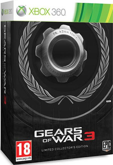 Gears of War 3 Limited Edition Xbox360 by Epic   - Nuovo Sigillato