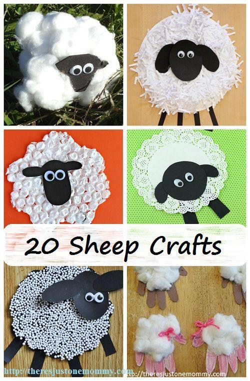 Kids Sheep And Lamb Crafts Kids Activities Lamb Craft