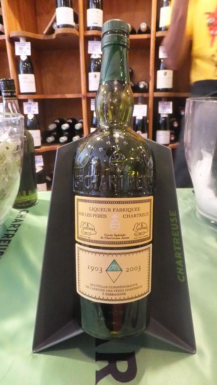 Dégustation de #chartreuse jaune cuvée spéciale de 2003 aux caves Bossetti