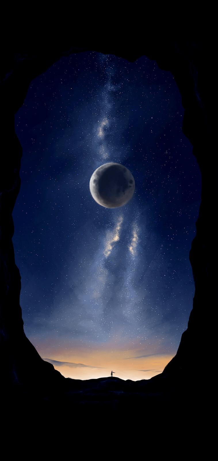 Bigger Than Us Wallpaper Iphone Android Background Followme Trippy Wallpaper Wallpaper Reflection Art