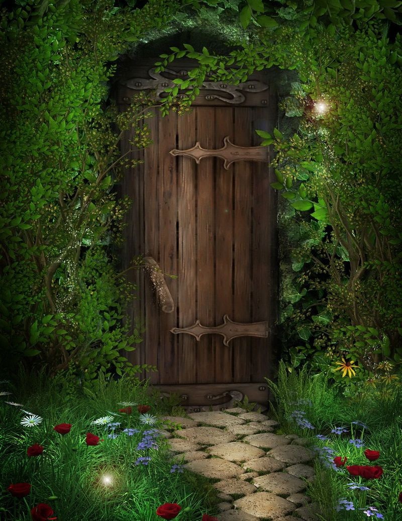 Двери сказка картинки