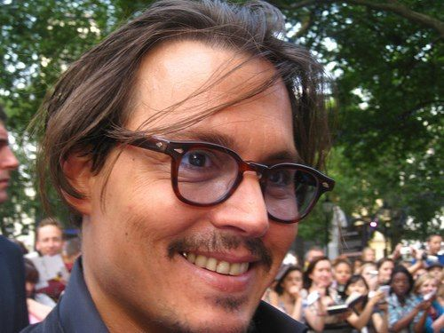 Johnny Depp You Wont Often See Him Smile And Showing His Teeth Here