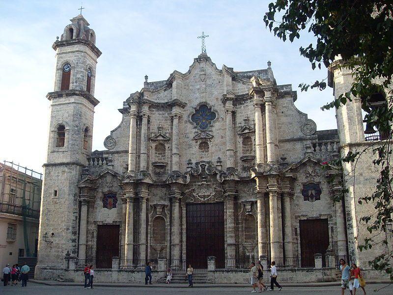Catedral de La Habana Cuba.