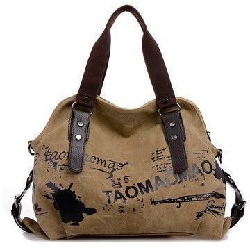 Vintage Graffiti Women s Bag Canvas Handbag Female Famous Designer Shoulder  Bag Ladies Tote Fashion Large Sac a Main bolsos Muje dee8239570149