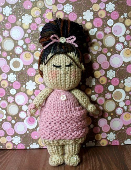 Cupcake Skirt Dolls Loom Knitting Pattern Video | Knitted ...