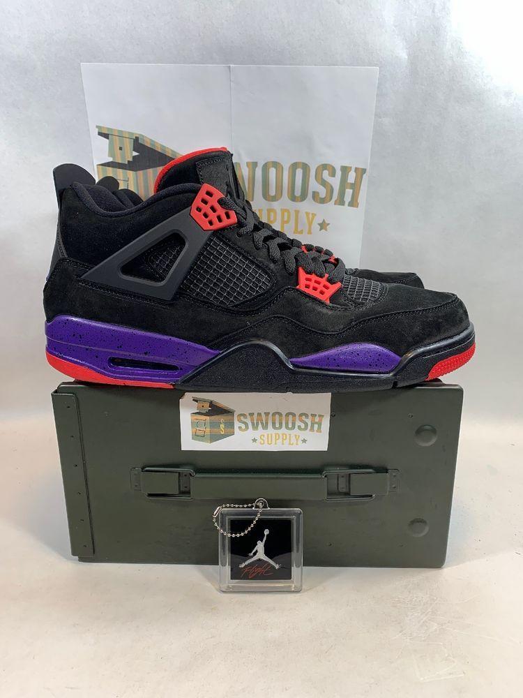 brand new 4212d cdfea Nike Air Jordan 4 Retro NRG AQ3816-065 Raptors Colorway Men s Size 14  DeadStock  Nike  BasketballShoes
