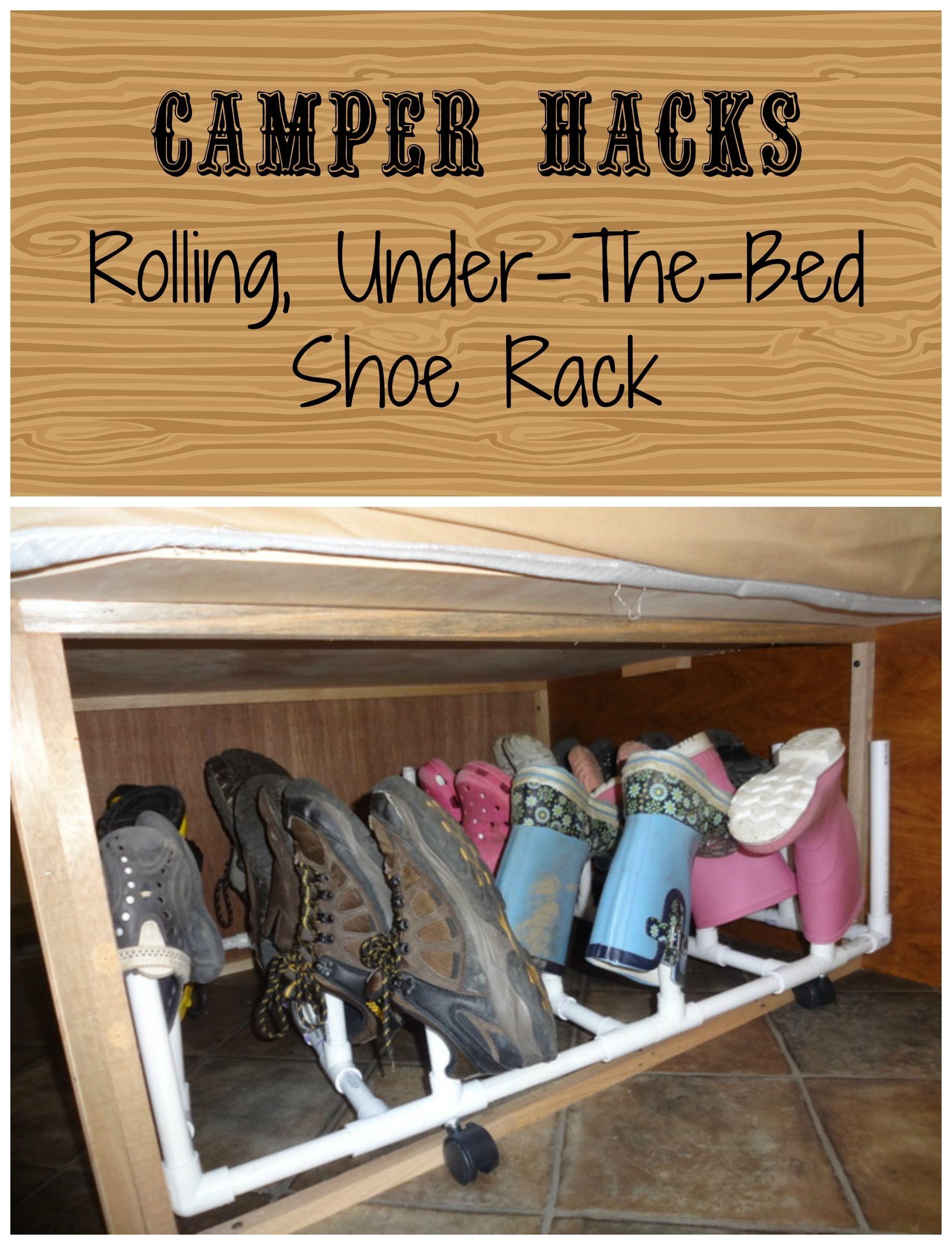 space saving strategies shoe storage