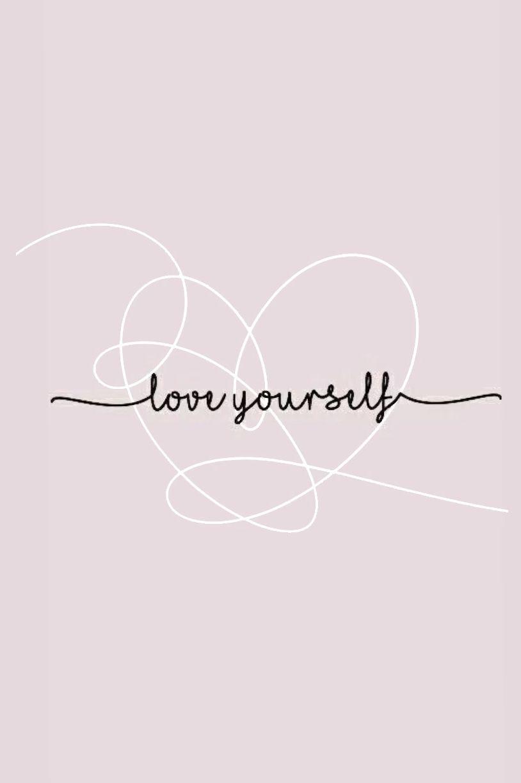 Love yourself wallpaper | Bts tattoos, Bts wallpaper lyrics, I love bts