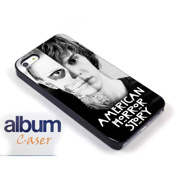 etsy.com/shop/albumcaser (American Horror Story skull Tate) iPhone... ($13) ❤ liked on Polyvore featuring accessories, tech accessories, phone cases, phones et samsung