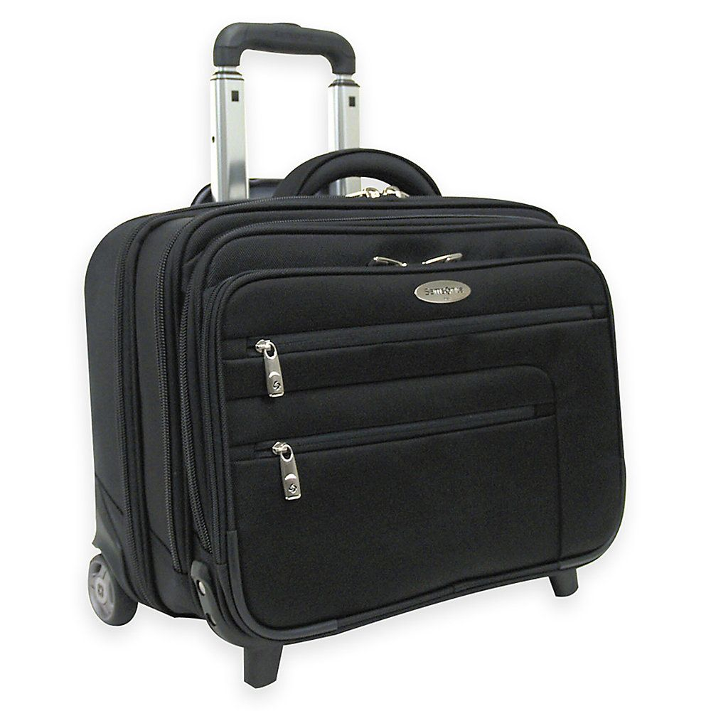 Laptop bags office depot - Samsonite Wheeled Business Case With Removable Computer Sleeve Black Office Depotcomputers