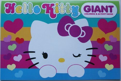 Hello Kitty Giant Coloring And Activity Book Read More At The Image Link Note It Is Affiliate Link To Ama Hello Kitty Toys Hello Kitty Hello Kitty Coloring