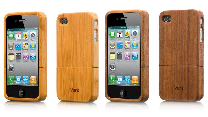 Handmade Wooden iPhone 4 Case by Vers on aha life, $ 40 >> Loving these!