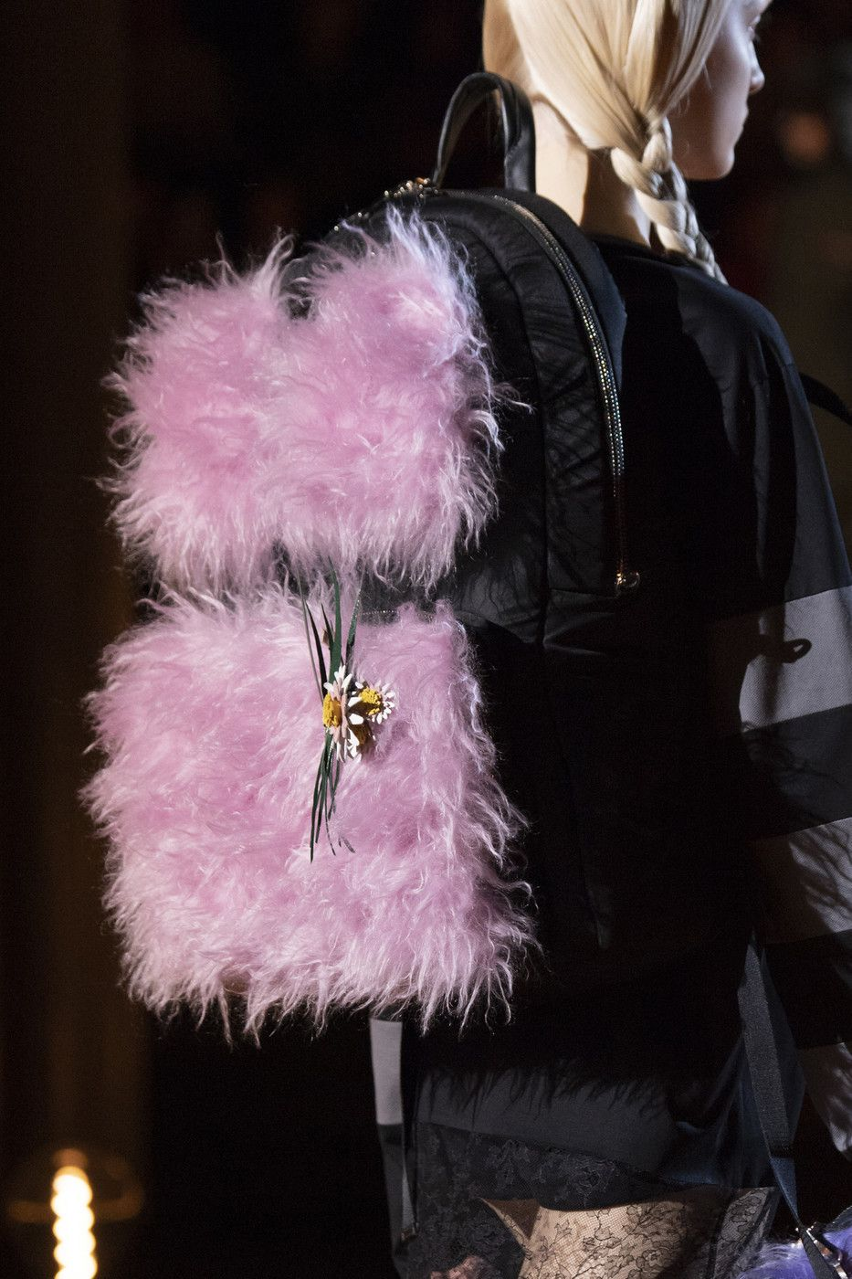 Prada RTW Fall19 - #2019 #bag #catwalk #couture #fashion #high #pink #prada #rtw #runway #style