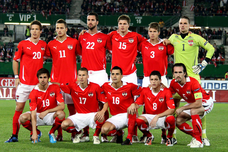 Austrian Football National Team October 2010 Best Football Team Football Team Football