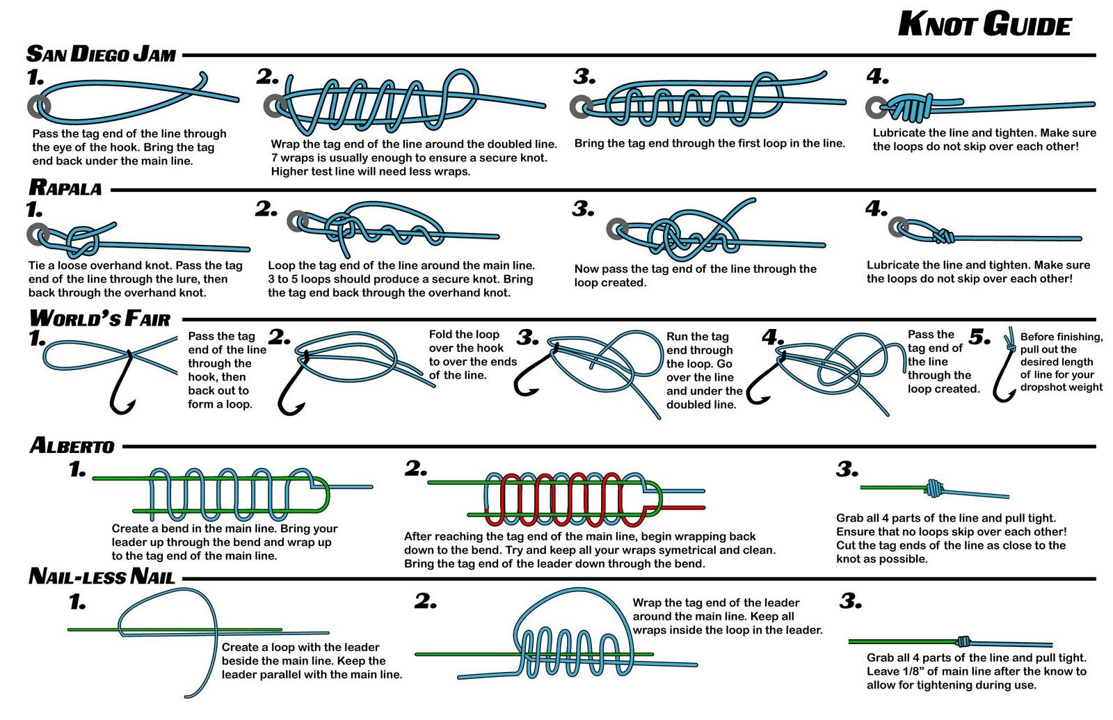 Fishing knots google search my things pinterest for Best fishing knots