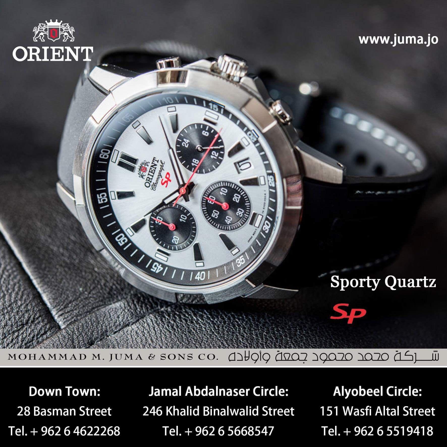 Orient Watch Sporty Quartz Sp Model Orient Watch Watches Wrist Watch