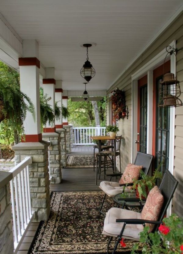 40 lovely veranda design ideas for inspiration verandas for Beautiful veranda designs