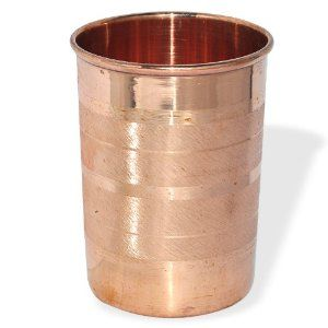 copper glass, glass copper, copper drinking glass, copper kitchenware, copper tableware, copper glasses
