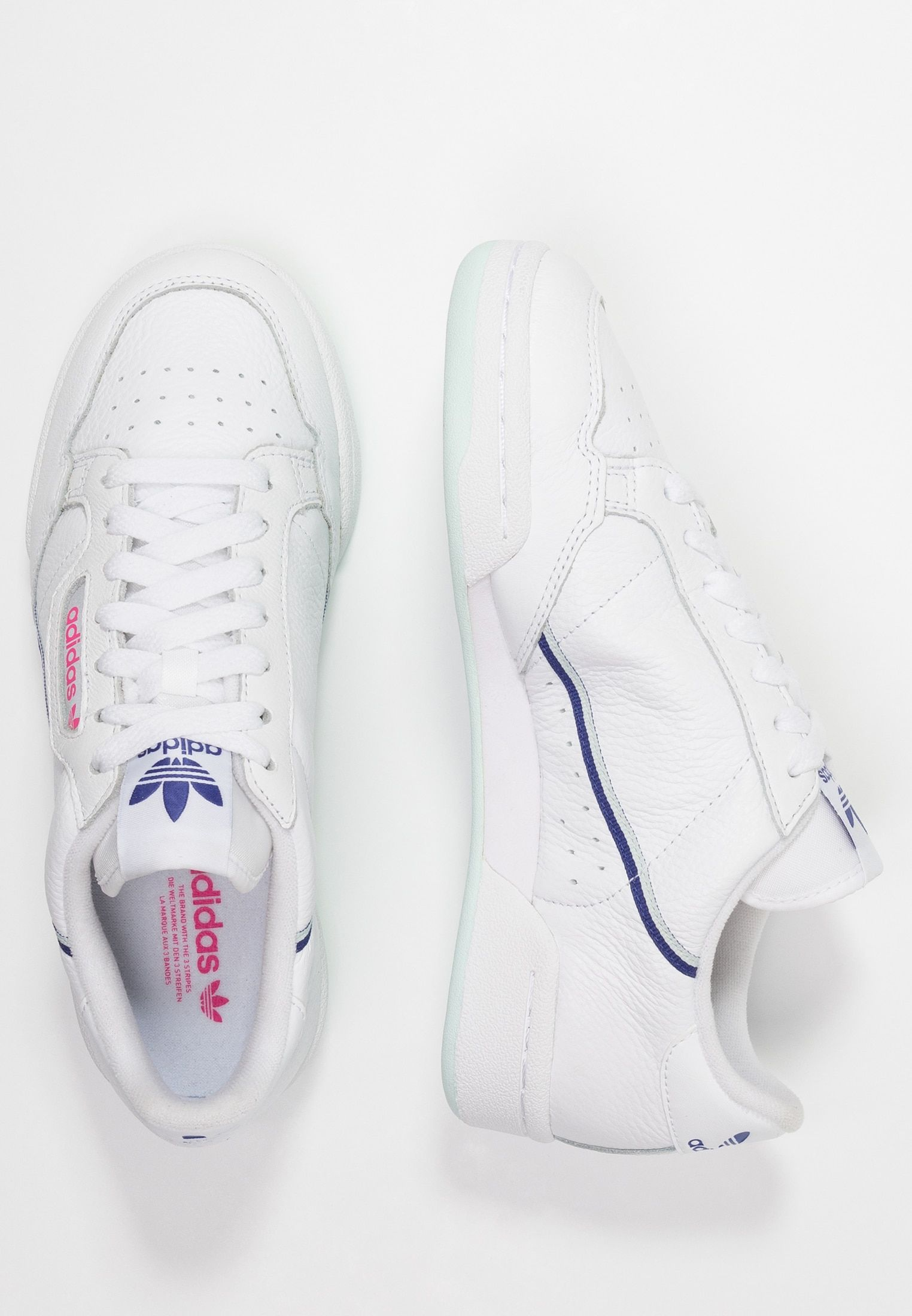CONTINENTAL 80 - Sneaker low - footwear white/ice mint ...