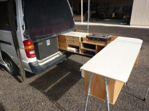 Slide Out Van Kitchen Truck Bed Trailer, Trailer Awning, Truck Camper,  Camper Van